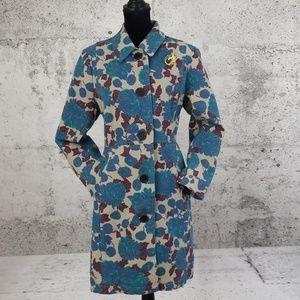 BODEN Vintage Mod Floral Coat.
